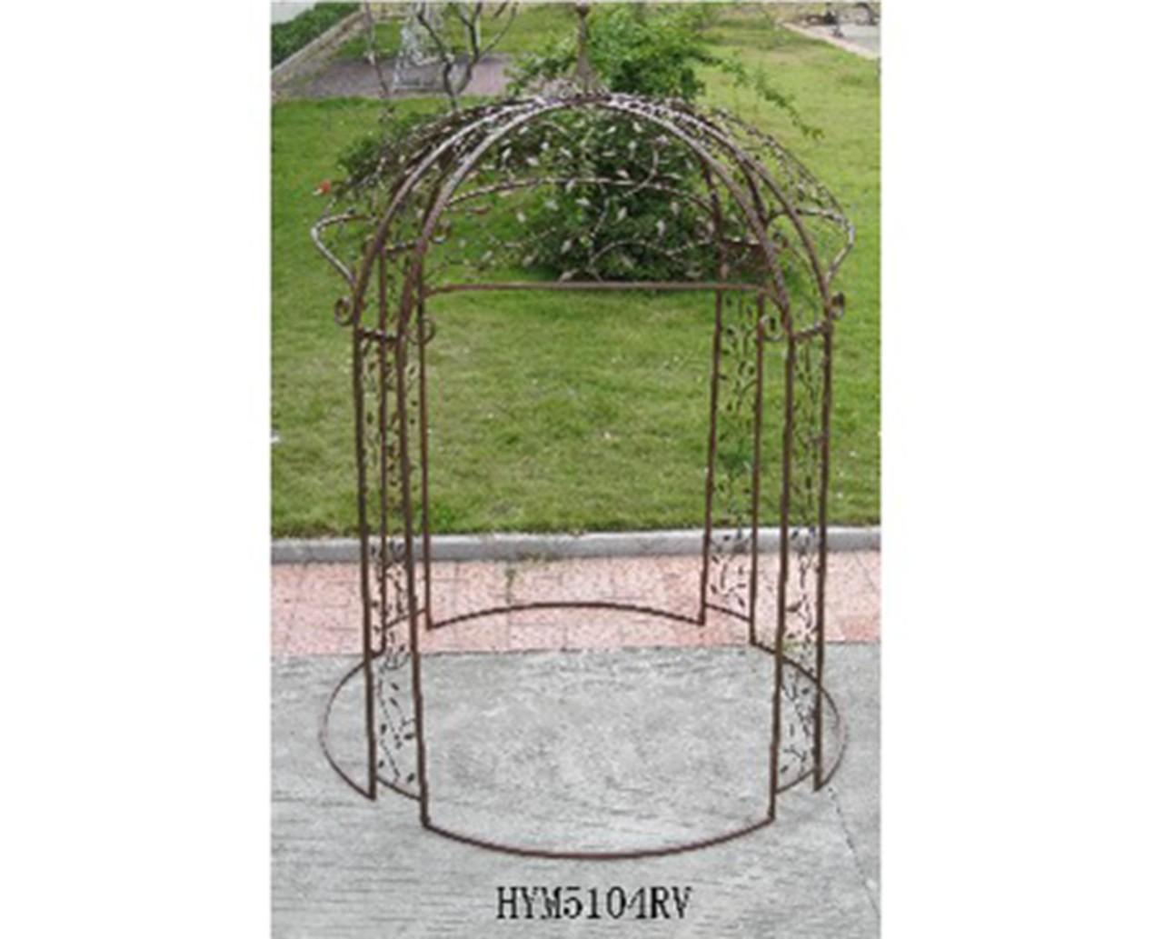 Kiosque en bois pour jardin - Leroy merlin kiosque de jardin ...