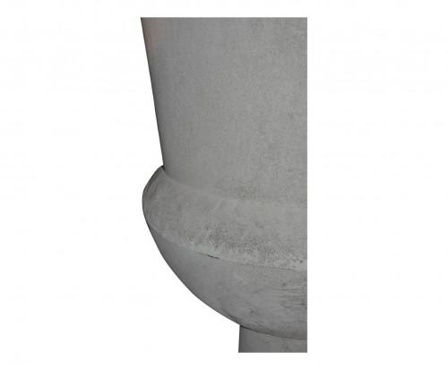 grande urne en tole patin zinc demeure et jardin. Black Bedroom Furniture Sets. Home Design Ideas