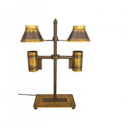 Lampe de bureau double