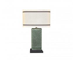 Lampe Ceramique Verte