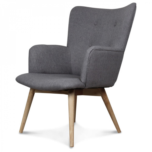 Taupe guide d 39 achat - Fauteuil style nordique ...