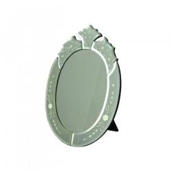Miroir ovale glace de venise