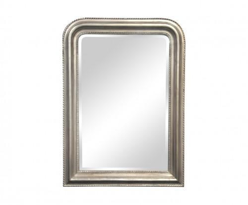 Miroir long argente miroir daventry rectangle argent x for Miroir grande demeure