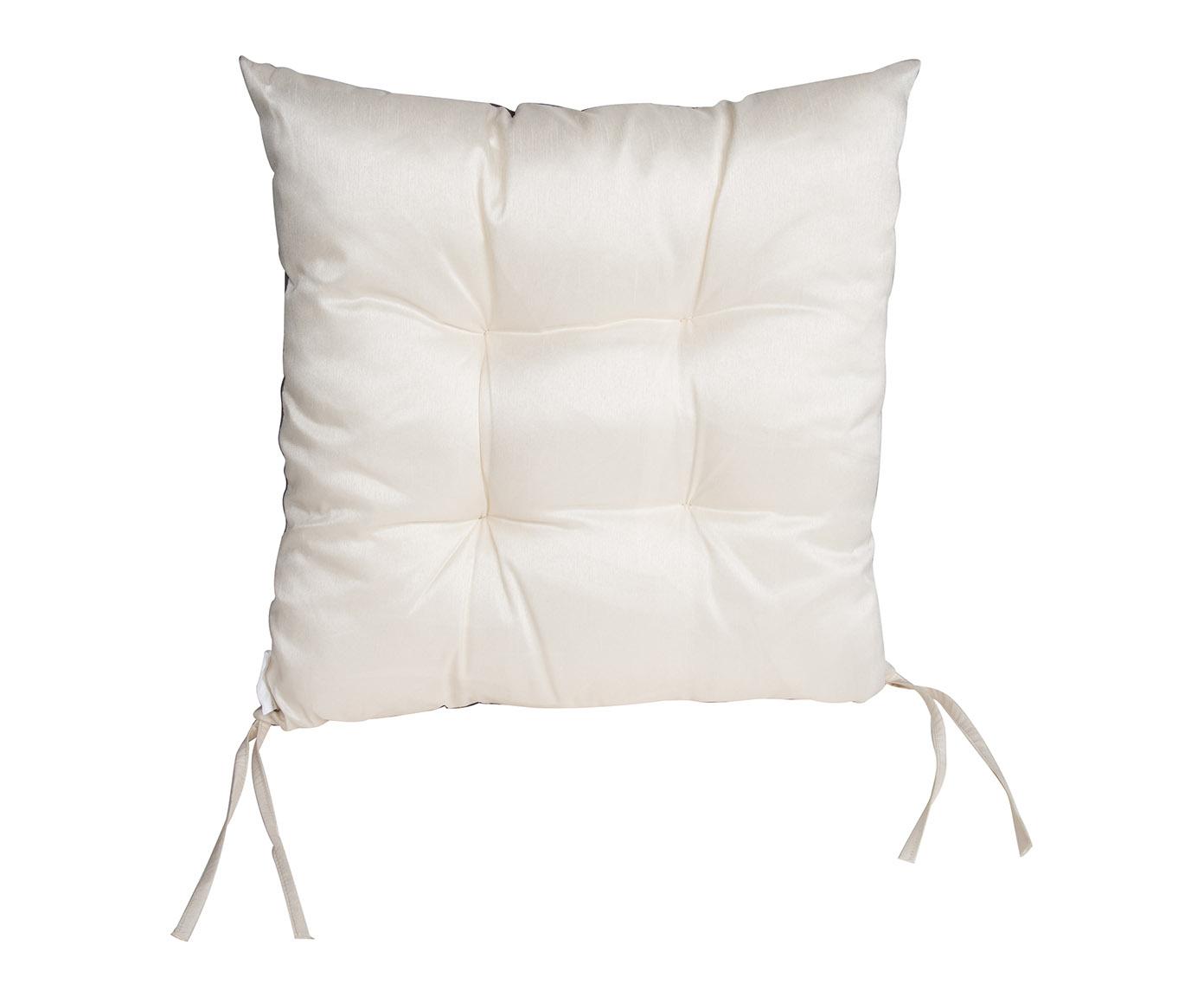 galette de chaise grise carr e sera id ale plac e sur une. Black Bedroom Furniture Sets. Home Design Ideas