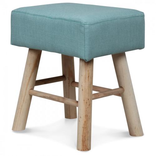 tabouret bleu oc an t nk la demeure et jardin. Black Bedroom Furniture Sets. Home Design Ideas