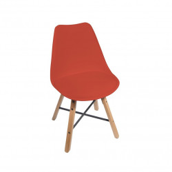 Chaise design STÏLTÙM rouge