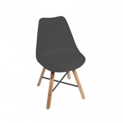 Chaise design STÏLTÙM noire