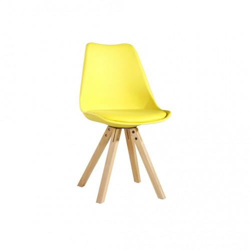 Chaise vintage jaune TÛOLIK