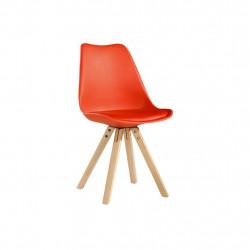 Chaise vintage rouge TÛOLIK