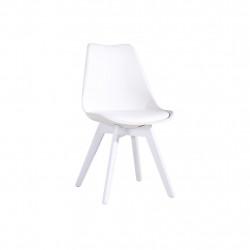 Chaise vintage blanche TÛOLIK