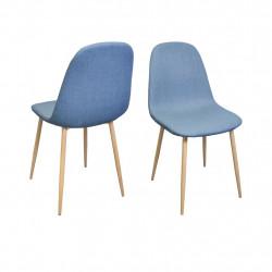 Chaise design métal style scandinave VANKA