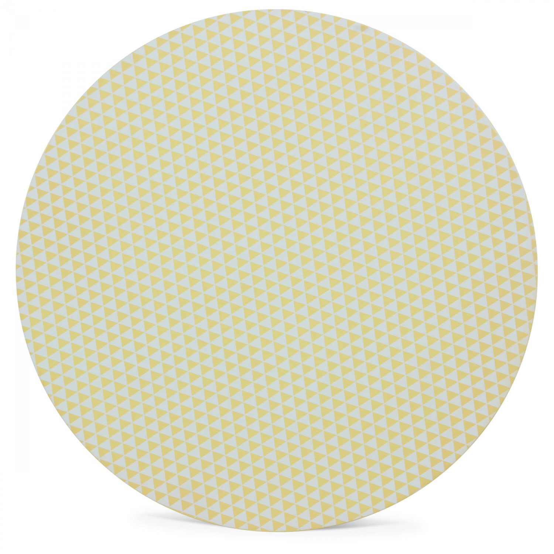 table basse scandinave jaune gj kt diam tre 40 cm. Black Bedroom Furniture Sets. Home Design Ideas