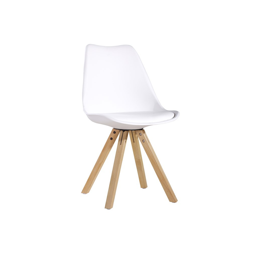 chaise vintage blanche t olik demeure et jardin. Black Bedroom Furniture Sets. Home Design Ideas