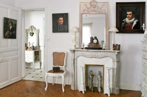 Le trumeau ou miroir de chemin e demeure et jardin for Miroir dessus de cheminee
