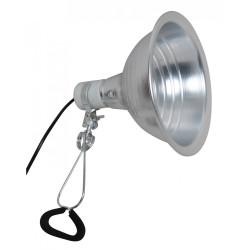 Lampe pince en métal