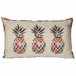 Coussin style Ananas