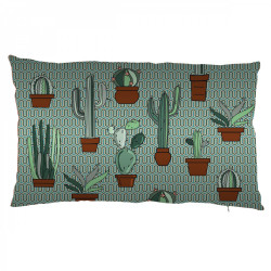 Coussin Style cactus