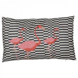 Coussin rectangulaire Flamant Rose
