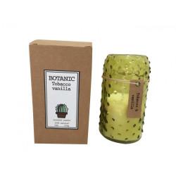 Bougie Botanic - parfum Tabac et Vanille