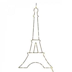 Tour Eiffel LED - 25 cm de hauteur