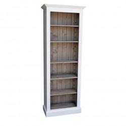Bibliothèque Etagère Colonne ROMANE - 79x39x210 cm