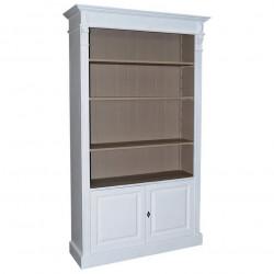 Etagère bibliothèque ouverte ROMANE - 120x39x197 cm