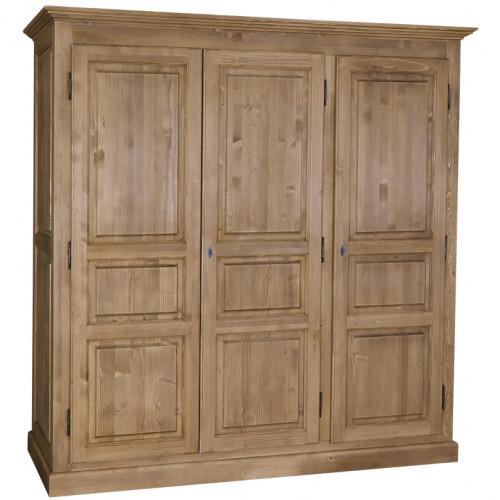 Armoire 3 portes ROMANE - 212 cm -