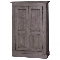 Armoire ROMANE en bois massif - 97x40x140 cm