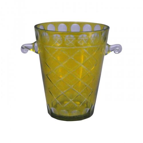 Seau à champagne jaune