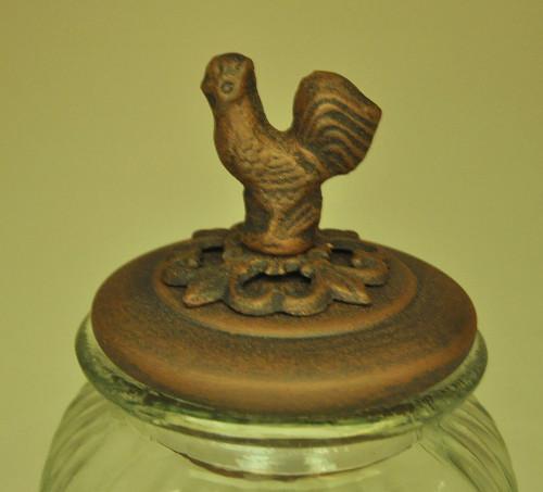 Bocal couvert oiseau petit modèle