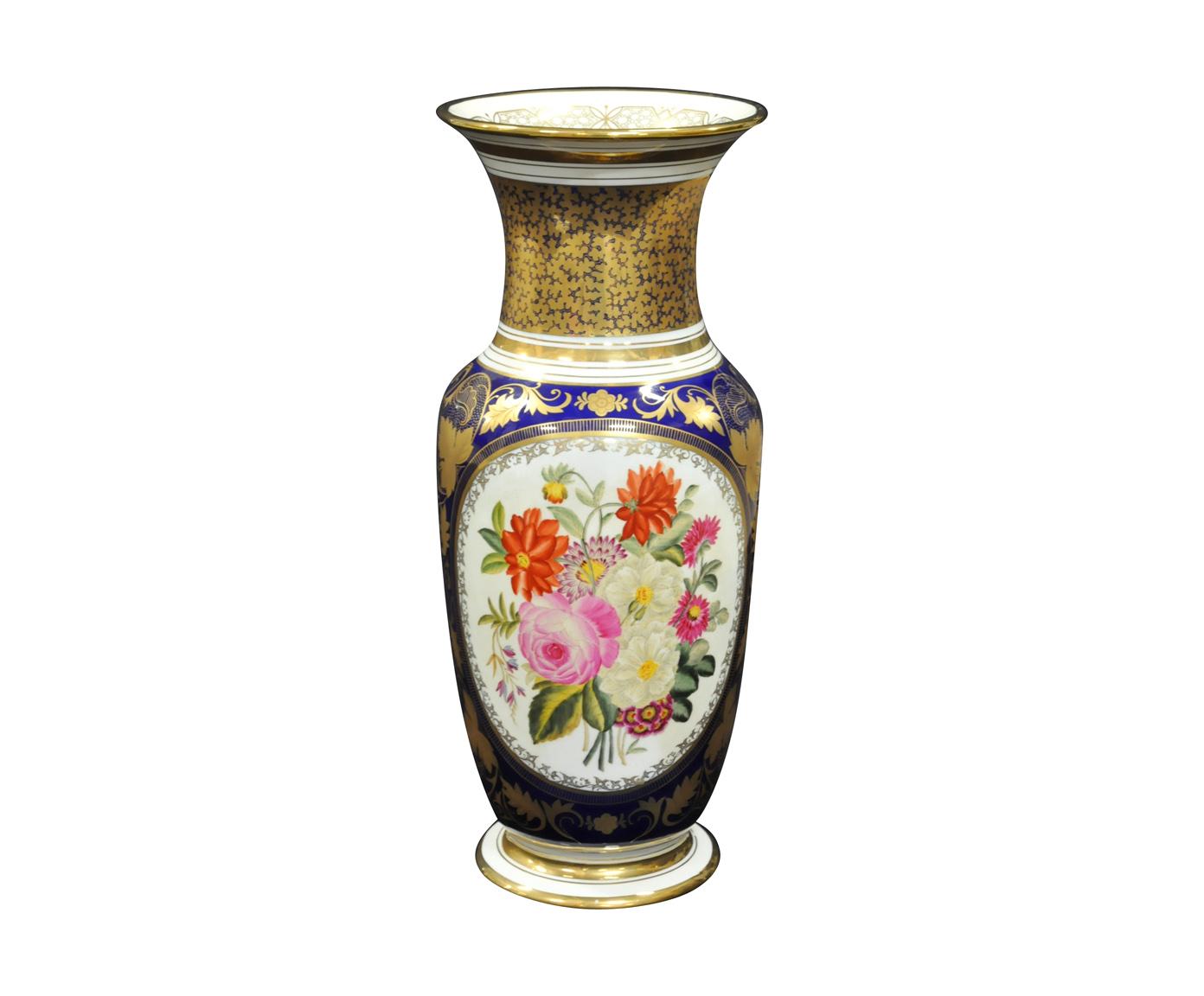 Paire de Vases Style Bayeux