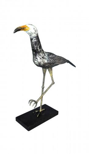 Toucan oiseau en fer forgé