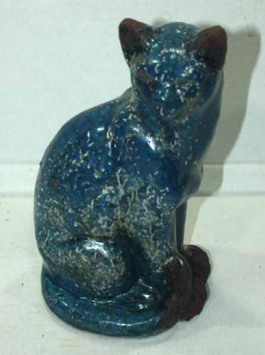 Petit Chat Egyptien en céramique