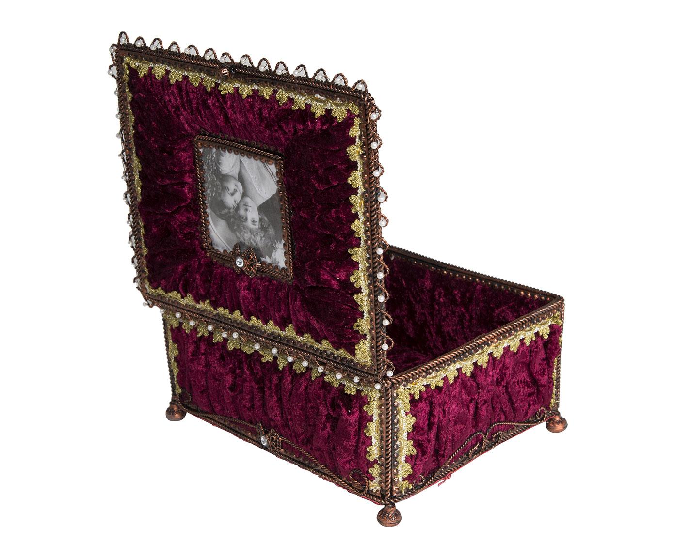 bo te photo velours grenat demeure et jardin. Black Bedroom Furniture Sets. Home Design Ideas