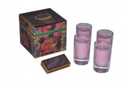 Coffret de 4 bougies Antique Rose