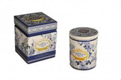 Bougie Parfum Poivre Rose et Jasmin Bleue
