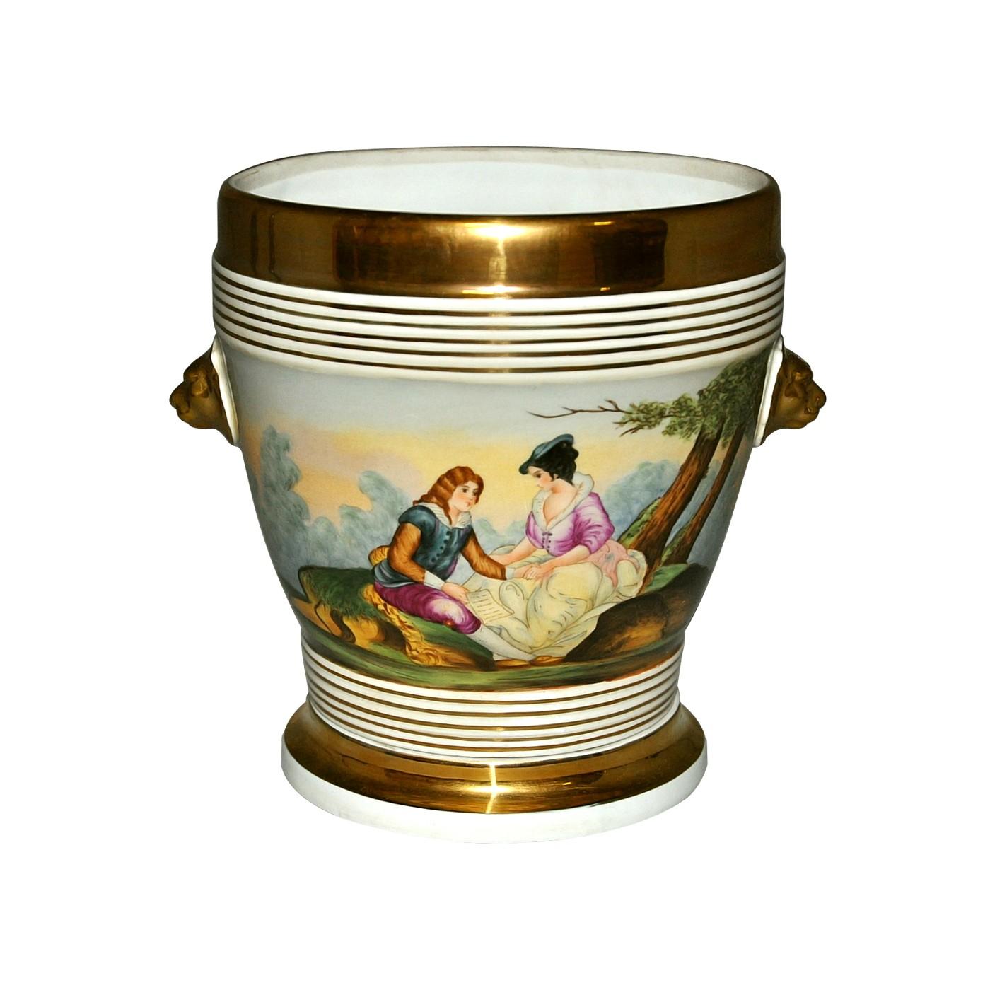 Cache Pot Style Louis Philippe Demeure Et Jardin