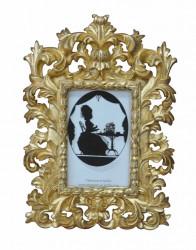 Cadre Photo Baroque Doré - 20 x 29 cm