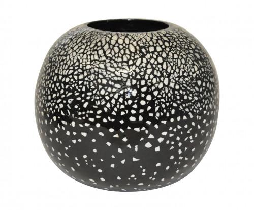 Vase Céramique et coquille d'oeuf marine