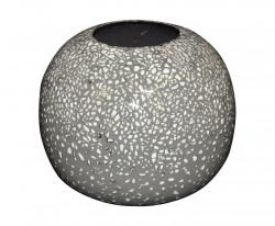 Joli Vase Boule céramique coquille d'oeuf