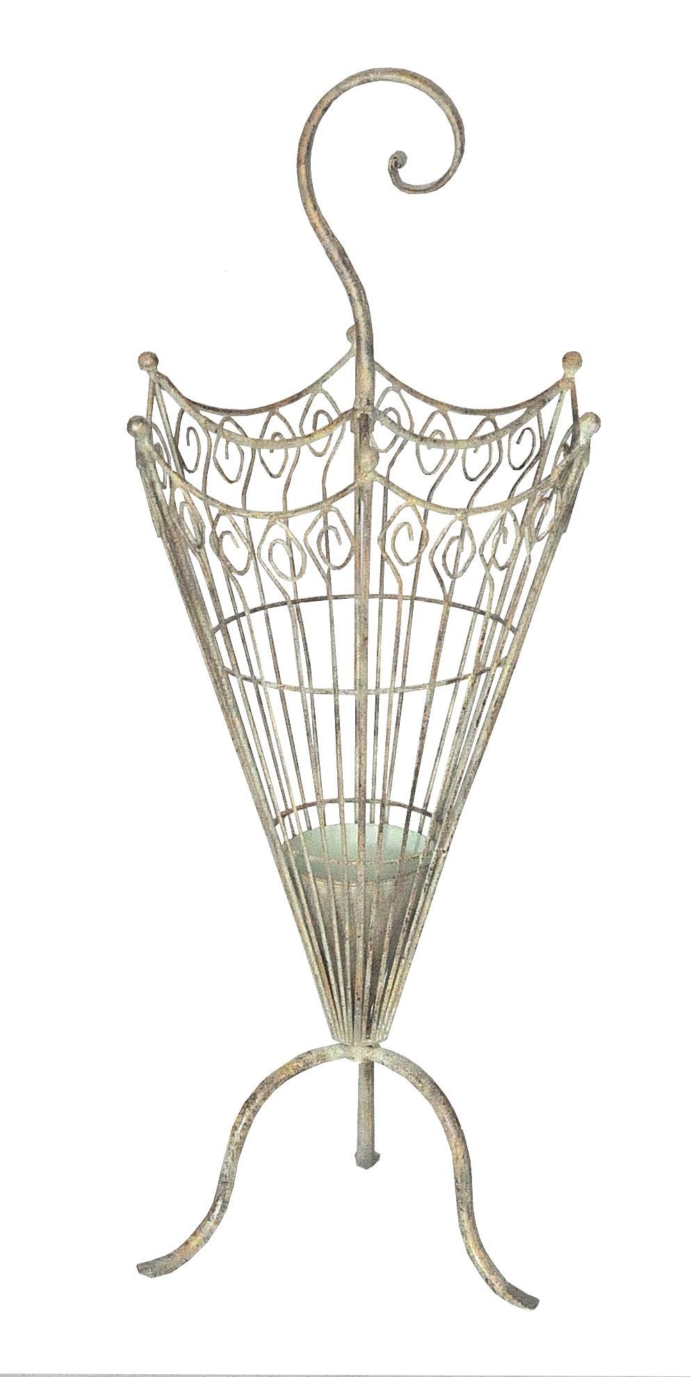 Porte parapluie fer forg demeure et jardin for Decoration porte fer forge