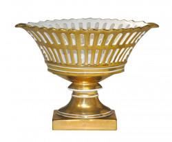 Coupe de style empire dorée