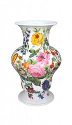 Grand vase fleuri porcelaine Modele Expo