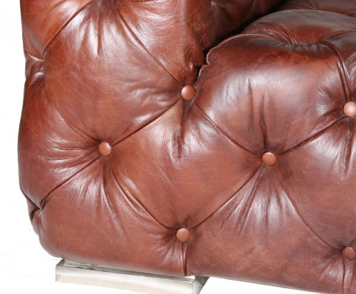 Canapé le chester Indiana Moutaigne marron