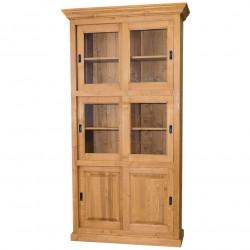 Bibliothèque en bois massif - 110 cm