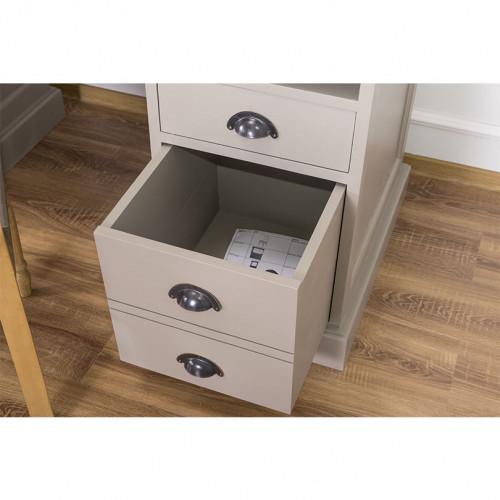 Bureau - 2 tiroirs et 1 porte