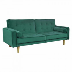 Clic clac «Sya» en velours vert