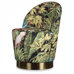 Fauteuil Flora jungle