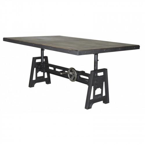 Table basse à manivelle - 140cm