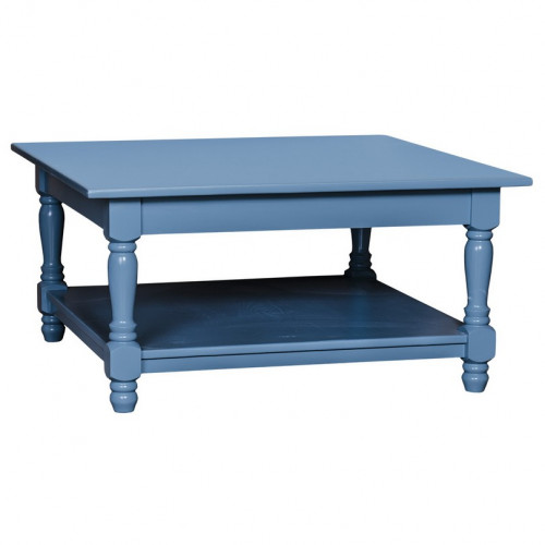 Table basse carré avec 2 plateaux